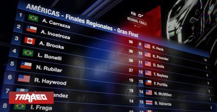 Angel Inostroza de Chile clasifica a la final del Mundial de Gran Turismo