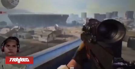 """""""Experto"""" en Free Fire juega por primera vez Call of Duty y pierde en segundos"""