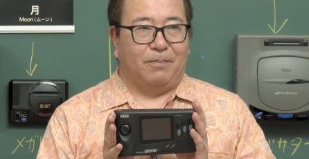 SEGA revela el raro prototipo de la consola portátil SEGA Nomad