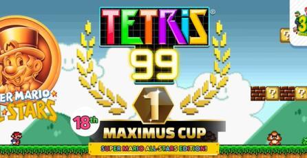 """Tetris 99 - Tráiler de Evento """"18th MAXIMUS CUP"""""""