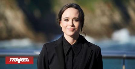 """Ellen Page ahora es Elliot Page: """"Amo ser trans"""""""