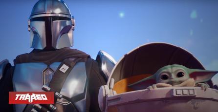CROSSOVER: Baby Yoda y The Mandalorian llegarán al pase de Fortnite