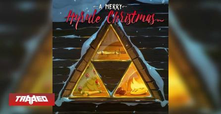 Sacan A Merry Hyrule Christmas, un álbum de navidad de Zelda