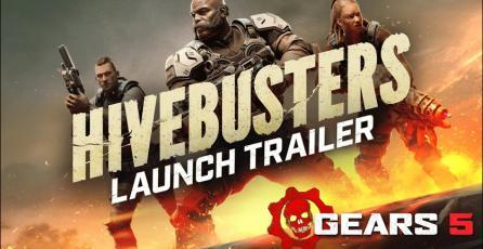 <em>Gears 5 </em>- <em>Hivebusters</em> Trailer de Lanzamiento