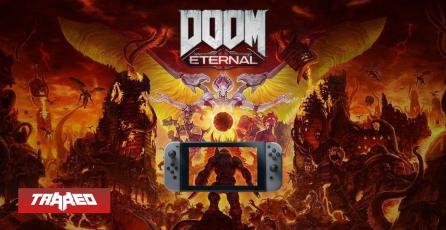 Panic button lo hizo otra vez: Así luce DOOM Eternal en Nintendo Switch
