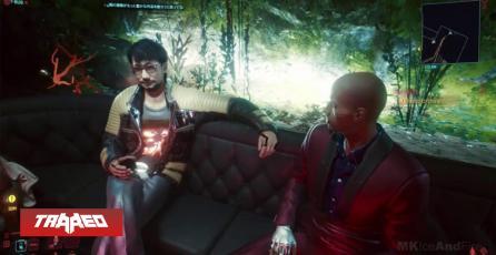 Hideo Kojima está en Cyberpunk 2077