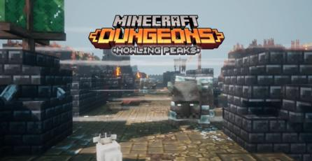 Minecraft Dungeons - Tráiler Lanzamiento DLC: Howling Peaks