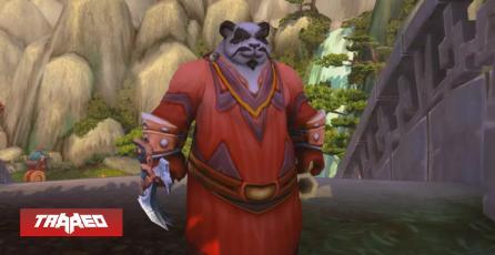 Pacifista Pandaren de WoW alcanza nivel máximo en Shadowlands solo recogiendo flores