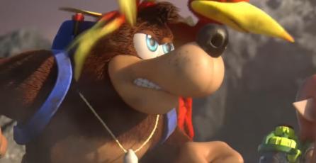 El nuevo trailer de <em>Smash Bros.</em> dejó un sabor agridulce al creador de Banjo y Kazooie