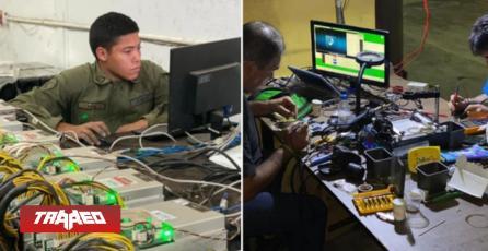 Venezuela está minando bitcoins en una base militar
