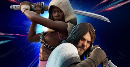 <em>Fortnite</em>: así puedes conseguir a Daryl y Michonne de <em>The Walking Dead</em>