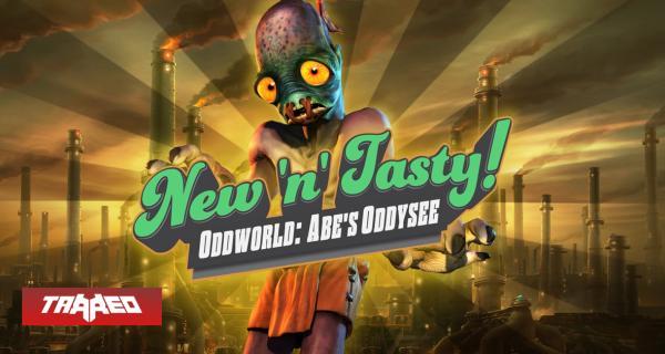 Oddworld: New 'n' Tasty! es el juego gratis de Epic hoy