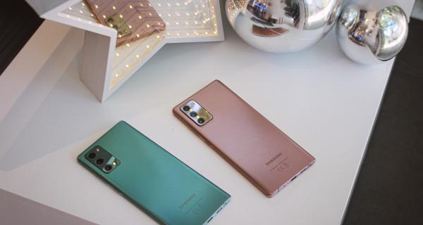 El Galaxy Note20 es el mejor regalo de navidad según Samsung y te contaremos sus motivos