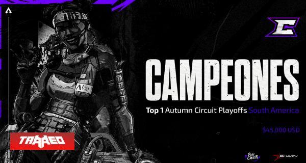 Team Cruelty de Chile gana la ALGS Autumn Circuit LATAM de Apex Legends y obtiene 45 mil dólares de premio