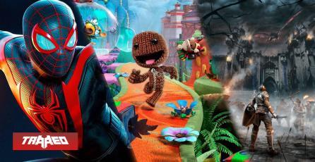 CONCURSO: Participa por una copia PS4/PS5 de Spider-Man Miles Morales, Demon's Souls o Sackboy para PS5