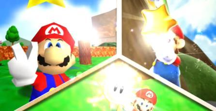 "Super Mario 3D All-Stars - Tráiler ""Explota el Mundo de Super Mario 64"""
