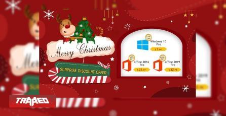 Ofertas navideñas de softwares: Windows profesional a menos de 8 dólares
