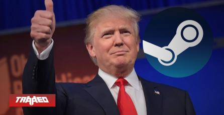 Donald Trump indulta a congresista republicano que gasto fondos de su partido en Steam