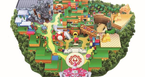 Comparten nuevas imágenes de Super Nintendo World
