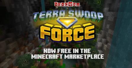 "Minecraft - Tráiler DLC ""Terra Swoop Force"""