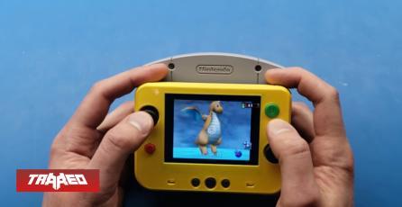 Modder crea Nintendo 64 portátil que usa cartuchos originales