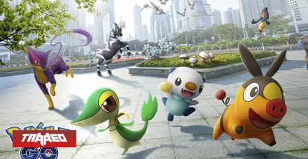 Pokémon GO tendrá evento masivo con criaturas de quinta generación