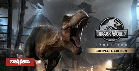Jurassic World Evolution es el ÚLTIMO JUEGO GRATIS de Epic Store