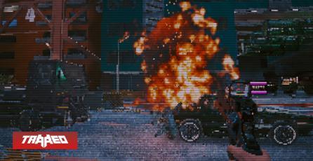 Cyberpunk 2077 luce como DOOM con este mod