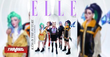 League of Legends: Grupo K-POP K/DA sale en portada de revista ELLE Singapur