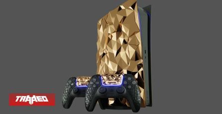Venden lujosa PlayStation 5 de oro macizo