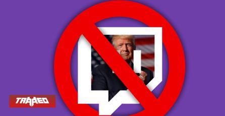 Twitch cerró la cuenta de Donald Trump para evitar llamados a la violencia