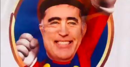 Candidato presidencial de Chile utiliza a <em>Super Mario Bros.</em> en propaganda oficial