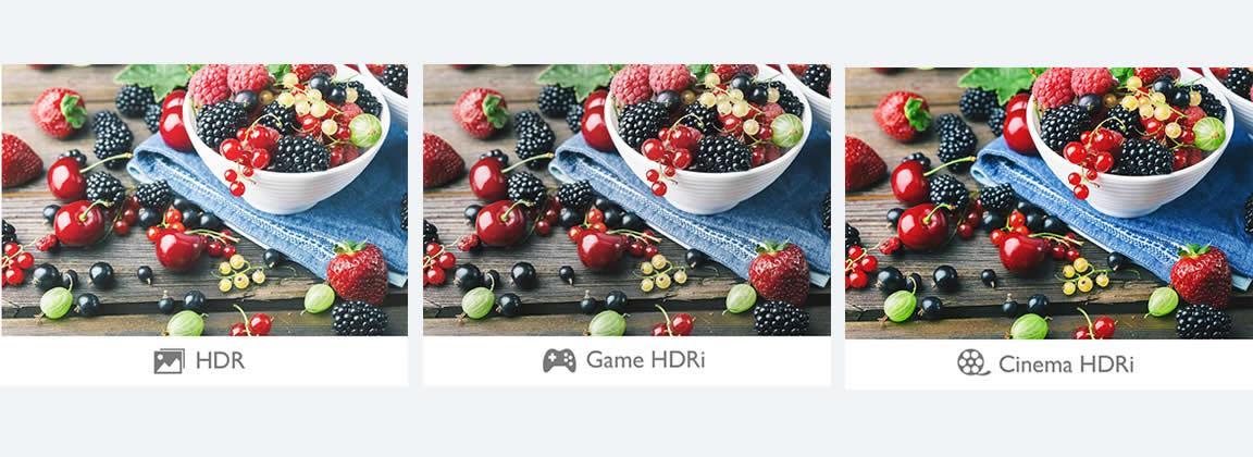 BenQ HDRi technology creates a more immersive experience