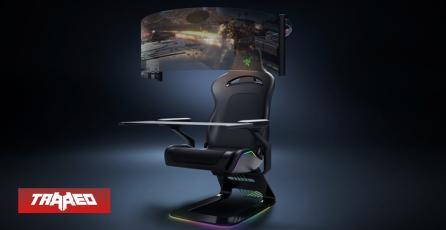 Project Brooklyn: La silla gamer con pantalla curva imaginada por Razer