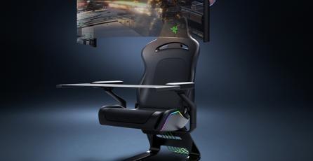 Nueva silla gamer de Razer te hará desear nunca moverte; tiene pantalla, vibración y más