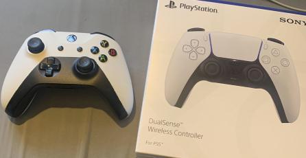 Pidió un DualSense en eBay pero recibió un control de Xbox One pintado