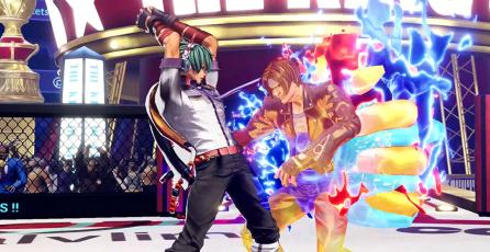Shun'ei muestra su poder en nuevo avance de <em>The King of Fighters XV</em>
