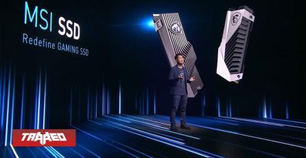 CES 21: MSI presentó sus primeros SSD y tendrán velocidades de hasta 7.000 MB/s