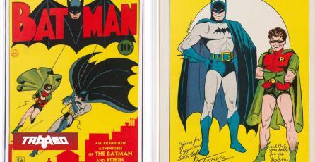 Subastan cómic de Batman #1 de 1940 en $2.2 millones dólares