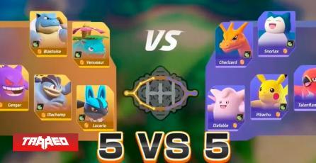 Se muestra nuevo gameplay de 14 minutos de Pokémon Unite