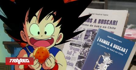 SORTEO: Gana una copia del libro que cuenta la historia de Goku en Chile