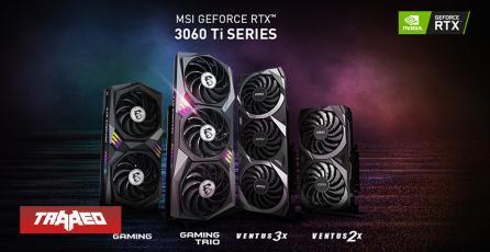 MSI lanzará RTX 3060 Ti para minería de criptomonedas