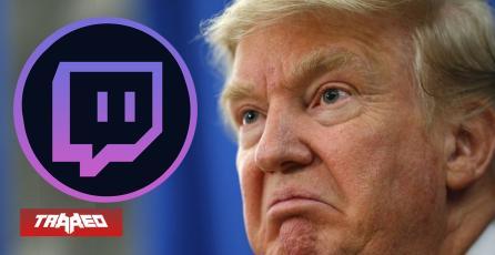 "Twitch prohíbe ""indefinidamente"" a Donald Trump de su plataforma"