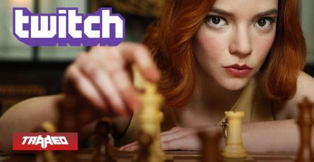 El ajedrez se hace popular en Twitch gracias a Gambito de Dama