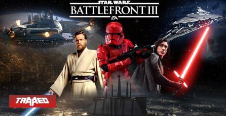 RUMOR: Sí tendremos Star Wars Battlefront 3 después de Battlefield 6
