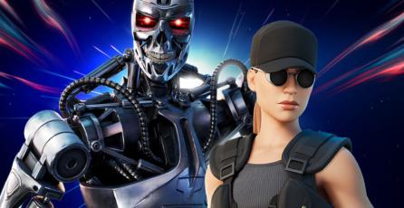 <em>Fortnite</em>: es oficial, Terminator y Sarah Connor llegaron al Battle Royale