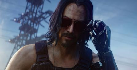 <em>Cyberpunk 2077</em>: arte oficial muestra a Silverhand sin parecido a Keanu Reeves