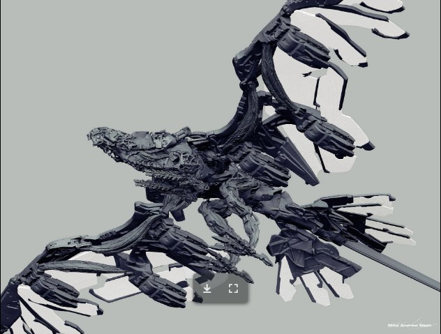 Thunderhawk - Horizon Zero Dawn: Mike Nash