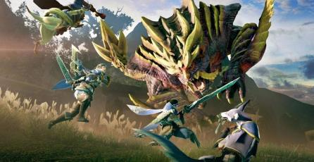 Así es el Switch edición especial de <em>Monster Hunter Rise</em>
