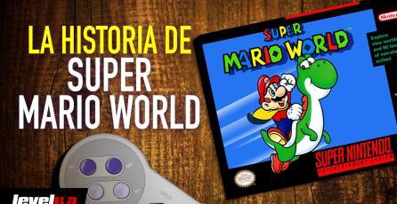 La historia detrás de Super Mario World